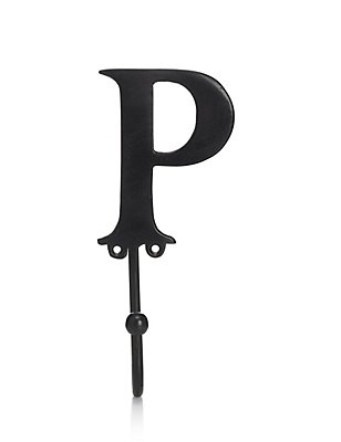 Alphabet P Door Hook, , catlanding