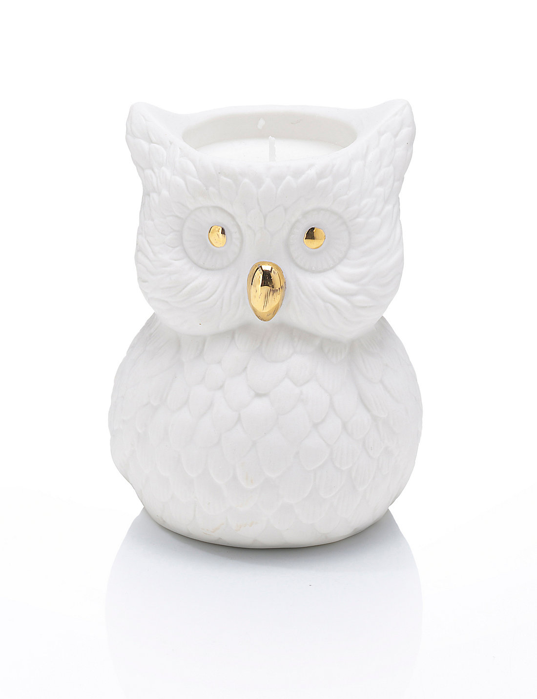 Grapefruit & Ginger Owl Filled Scented Candle