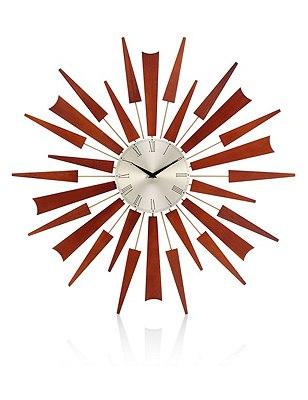 Sputnik Wall Clock, , catlanding