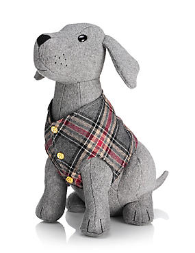 Buster Sitting Dog Doorstop, , catlanding