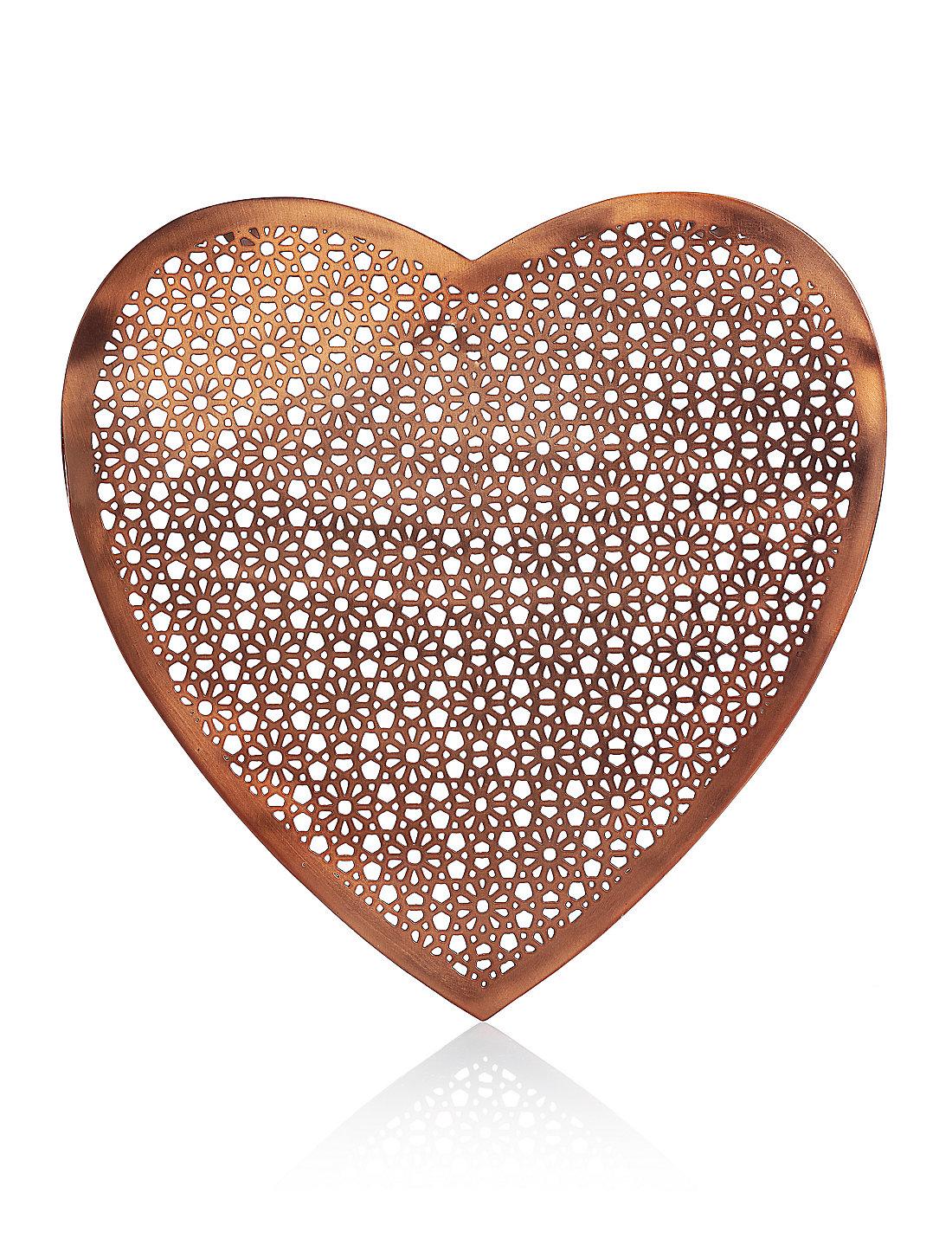 Metal Heart Wall Art Metal Cutout Heart Wall Art  M&s