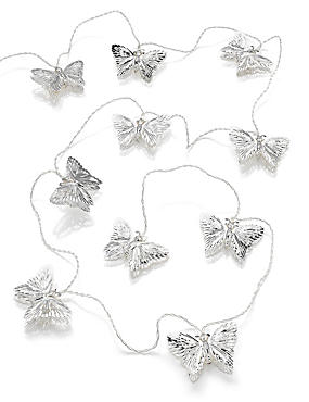 10 LED Indoor Butterfly String Lights