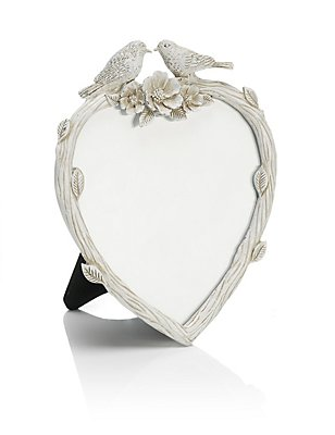 Heart Bird Photo Frame 11 x 11cm (4 x 4inch), , catlanding
