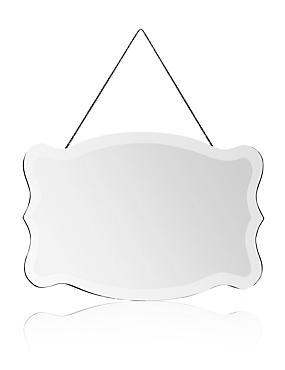 Scallop Frame Mirror, , catlanding