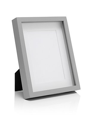 5x7 Solid Wood Photo Frame, GREY, catlanding