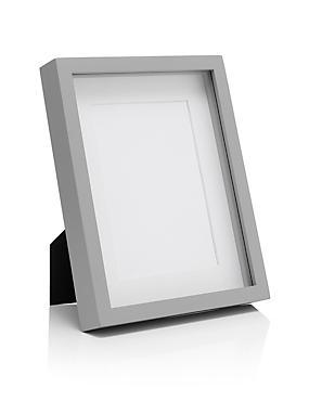 5x7 Solid Wood Photo Frame, GREY, catlanding
