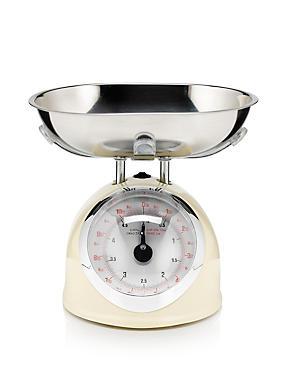 5kg Retro Scales, CREAM, catlanding