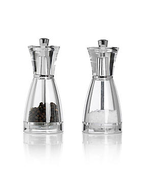 2 Salt & Pepper Mill Set, , catlanding