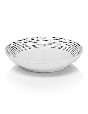 Lombard Spotted Pasta Bowl, , catlanding
