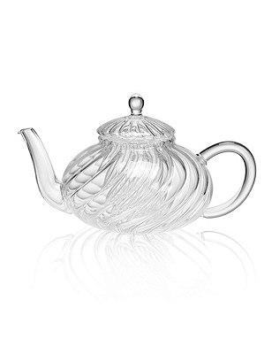Pretty Glass Teapot, , catlanding