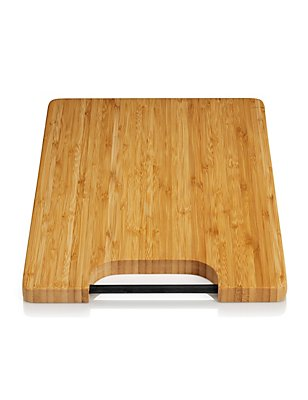 Bamboo Chopping Board with Silicon Rod Handle, , catlanding