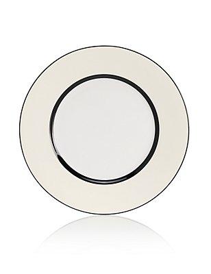 Manhattan Striped Tea Plate, , catlanding