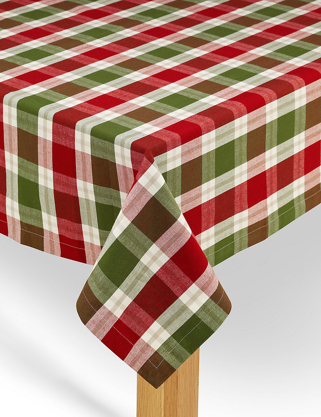 Pure Cotton Tartan Tablecloth