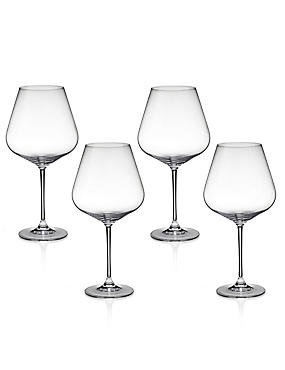 4 Nova Red Wine Glasses, , catlanding