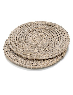 2 Straw Placemats, , catlanding
