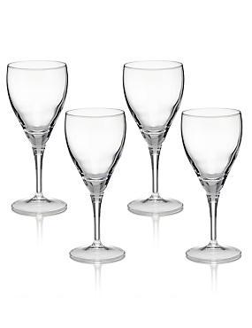 4 Fiore Wine Glasses, , catlanding