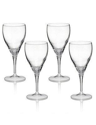 4 Fiore Wine Glasses, , catlanding