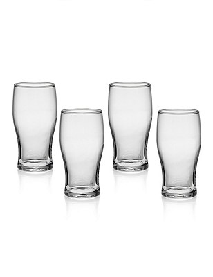 4 Andante Beer Glasses, , catlanding