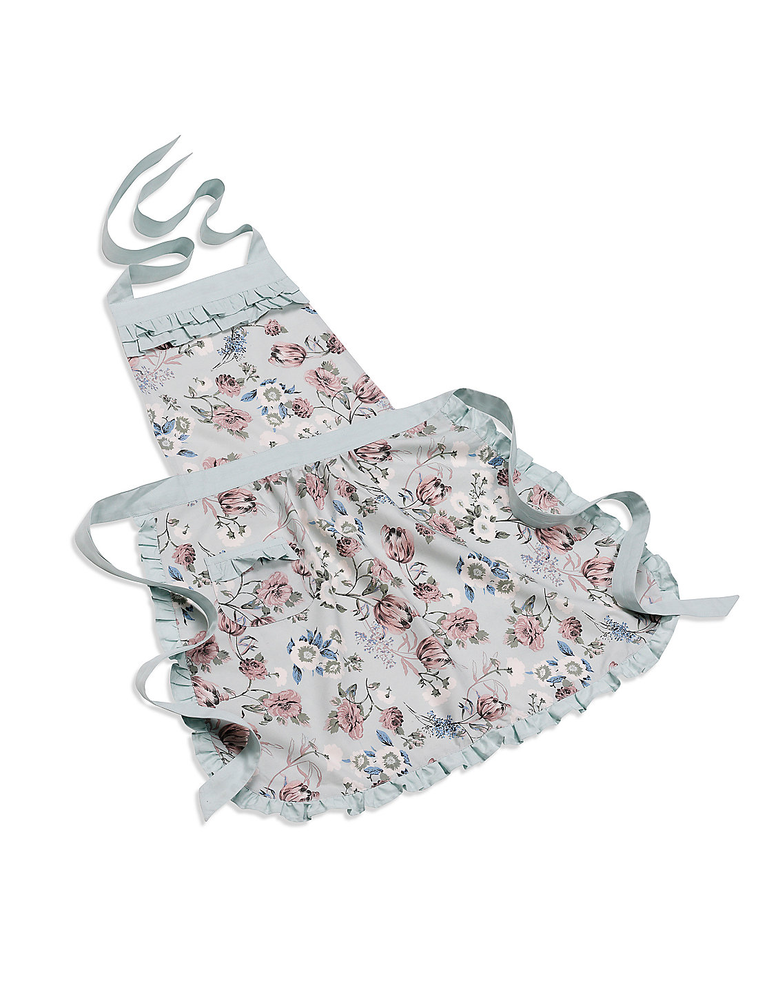 White apron marks and spencer - Vintage Style Floral Apron