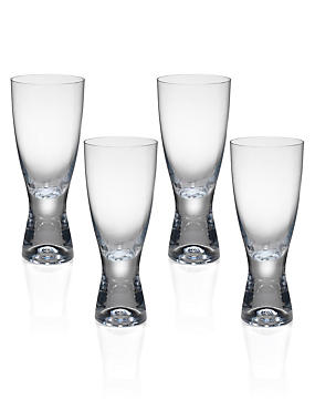 4 Barrel Aqua Glasses