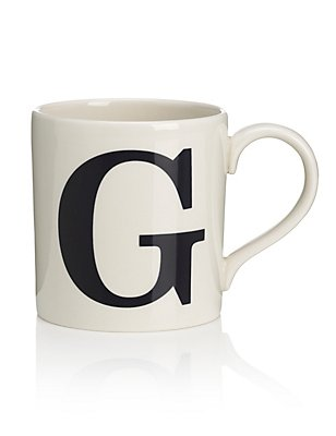 Letter G Mug, , catlanding