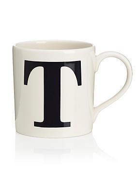 Letter T Mug, , catlanding