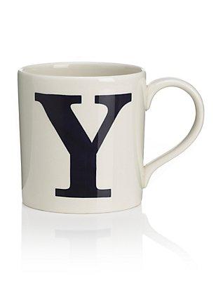 Letter Y Mug, , catlanding