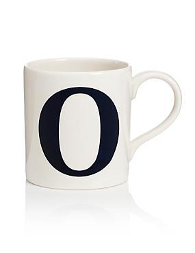 Letter O Mug, , catlanding
