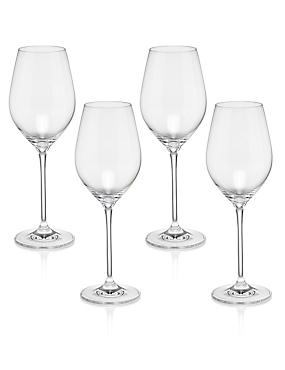 4 Sommelier Refreshing White Wine Glasses