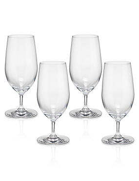 4 Sommelier Aqua Glasses