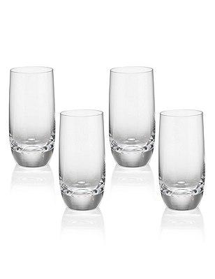 4 Sommelier Tall Mixer Glasses, , catlanding