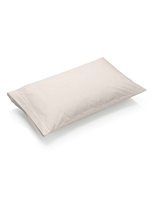 Pure Egyptian Cotton 230 Thread Count Housewife Pillowcase with StayNEW™, MINK, catlanding