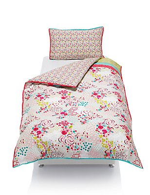 Floral Bedding Set, , catlanding
