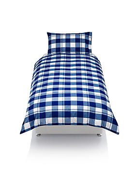 Checked Bedding Set, , catlanding
