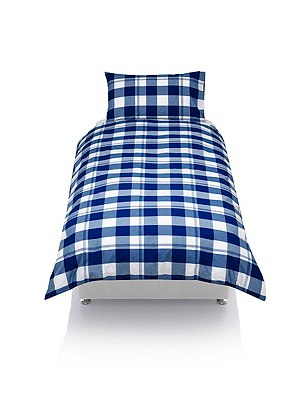 Checked Bedding Set, , catlanding