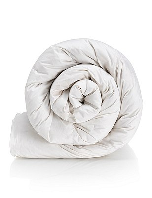 Pyrenean Goose Feather & Down 13.5 Tog Duvet, WHITE, catlanding