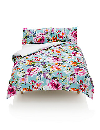 Summer Floral Bedding Set Home