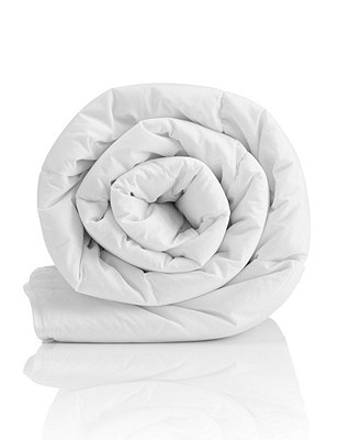 Supremely Washable 4.5 Tog Duvet , WHITE, catlanding