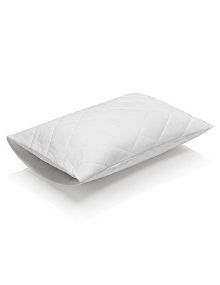 Supremely Washable Pillow Protector, , catlanding