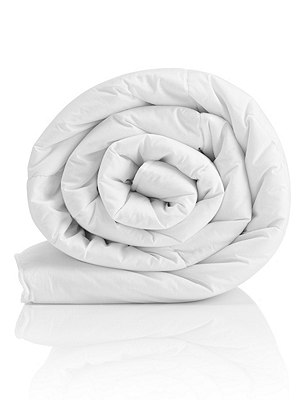Supremely Washable 13.5 Tog 3 in 1 All Seasons Duvet, WHITE, catlanding