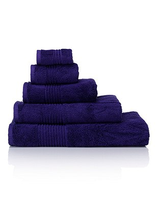 Luxury Egyptian Cotton Towel, PURPLE, catlanding