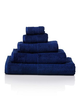 Luxury Egyptian Towel, MIDNIGHT, catlanding
