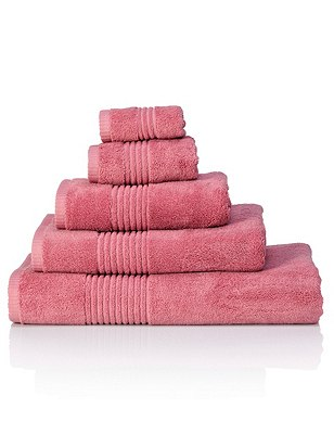 Luxury Egyptian Towel, ROSE, catlanding