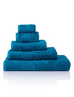 Luxury Egyptian Towel, TEAL, catlanding