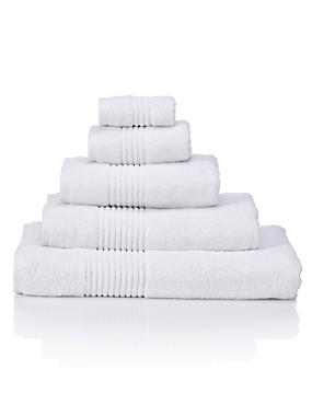 Luxury Egyptian Cotton Towel, WHITE, catlanding