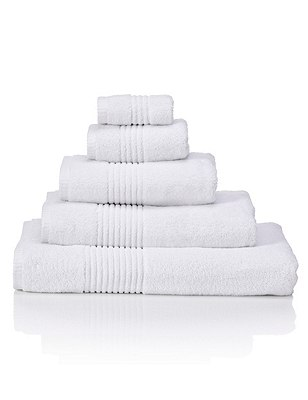 Luxury Egyptian Towel, WHITE, catlanding