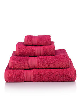 So Soft Towel, RASPBERRY, catlanding