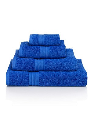 So Soft Towel, MID BLUE, catlanding