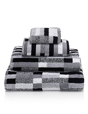 Hoxton Stripe, BLACK MIX, catlanding