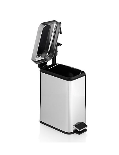 Small Bathroom Bins bathroom bin with lid - the 5 litre slide bin is your perfect